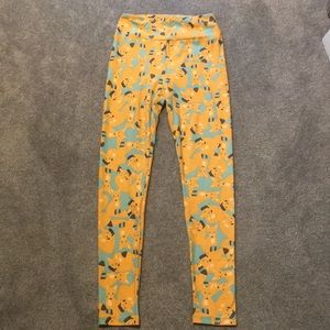 NEW Lularoe one size 🦊 Fox print leggings OS